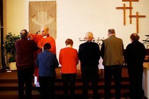 Ehtoollisen vietto Danielin seurakunnassa Iisalmessa