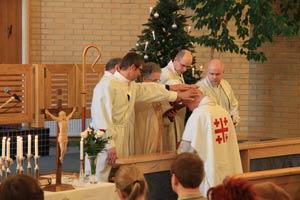 Pastori Miika Niemisen virkaansiunaaminen loppiaisena 2013
