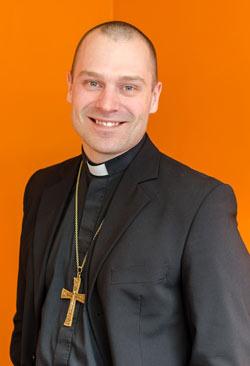 Timoteuksen seurakunnan pastori Janne Koskela