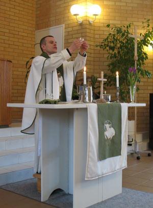 Samuelin seurakunnan paimenena palvelee pastori Harri Huovinen.