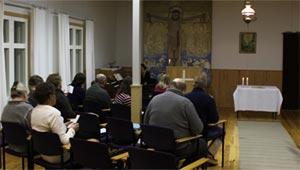 Suomen Luther-säätiön seurakunta Pyhänkoskella järjestäytyi Simeonin jumalanpalvelusyheisöksi.