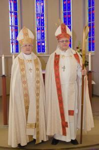 Piispat Väisänen ja Soramies