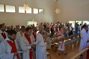 Pappisvihkimysmessun seurakunta