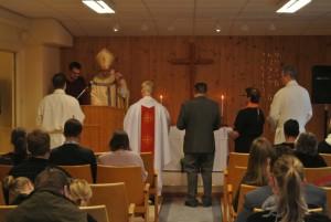 Pastori Anders Alapää asetettiin Korpilompolon seurakunnan pastoriksi Ruotsin Lapissa.