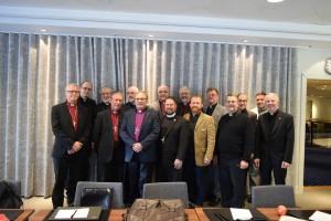 Pohjoismaisten tunnustuksellisten hiippakuntien edustajat tapasivat ILC:n johtokunnan.